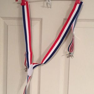 Other - Red white and blue suspenders ❤️